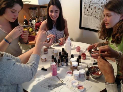 Atelier cosmetique naturelle enfants ados